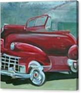 Cadillac 47 Canvas Print
