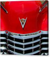 Cadillac Ambulance  Canvas Print