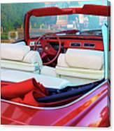 Cadillac Convertible -  A Car Class  Canvas Print