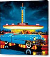 Cadillac Diner Canvas Print
