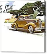 Cadillac Lasalle Canvas Print