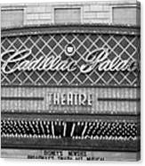 Cadillac Palace Canvas Print