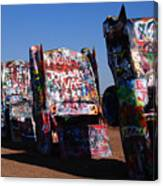 Cadillac Ranch On Route 66 Canvas Print
