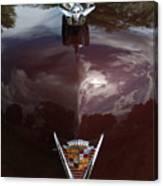 1949 Cadillac La Salle - Hood Ornaments Canvas Print