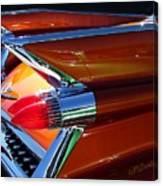 Cadillac Tail Fin View Canvas Print