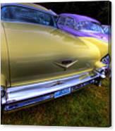 Cadillacs All In A Row Canvas Print