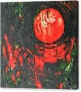 Cadmium And Green Canvas Print
