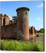 Caerlaverock Castle, Scotland Canvas Print