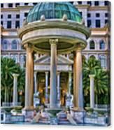 Caesar Columns Canvas Print