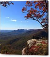 Caesars Head State Park In Upstate South Carolina Canvas Print