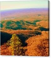 Caesars Head State Park Canvas Print