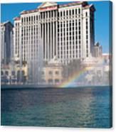 Caesar's Rainbow Canvas Print