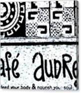 Cafe Audrey Canvas Print