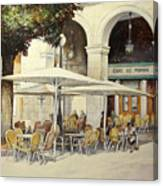 Cafe de Pombo-Santander Canvas Print