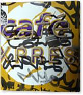 Cafe Express Canvas Print
