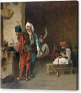 Cafe House, Cairo  Canvas Print