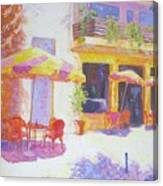 Cafe in Spain Canvas Print