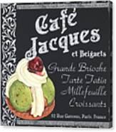 Cafe Jacques Canvas Print
