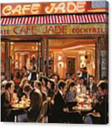 Cafe Jade Canvas Print