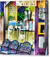 Cafe Joul Canvas Print