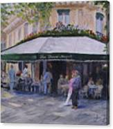 Cafe Magots Canvas Print