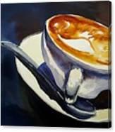 Cafe Noisette Canvas Print