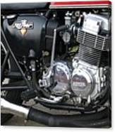 Cb750 Cafe Racer Canvas Print