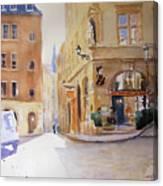 Cafe Soleil  Canvas Print