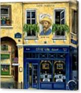 Cafe Van Gogh Canvas Print