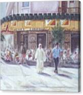 Cafe Zanzibar. Fez Canvas Print