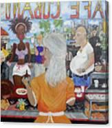 Cafeteria Canvas Print