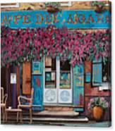 caffe del Aigare Canvas Print