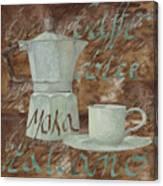 Caffe Espresso Canvas Print