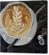 Caffe Vero Cappie Canvas Print