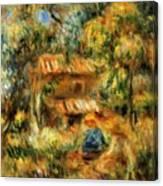 Cagnes Landscape 1 Canvas Print