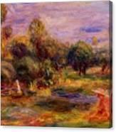 Cagnes Landscape 1908 Canvas Print