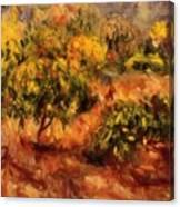 Cagnes Landscape 1919 Canvas Print