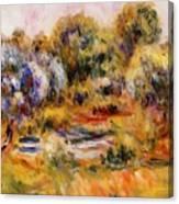Cagnes Landscape 2 Canvas Print