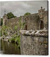 Cahir Castle 1384 Canvas Print