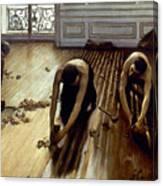 Caillebotte: Planers, 1875 Canvas Print