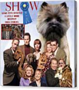 Cairn Terrier Art Canvas Print - Best In Show Movie Poster Canvas Print