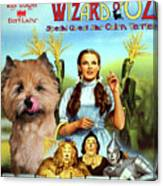 Cairn Terrier Art Canvas Print - The Wizard Of Oz Movie Poster Canvas Print