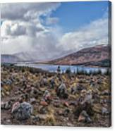 Cairns Of Loch Loyne Canvas Print