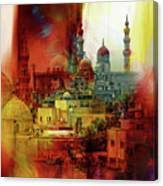 Cairo Egypt Art 01 Canvas Print