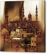 Cairo Egypt Art 03 Canvas Print