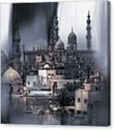 Cairo Egypt Art Canvas Print