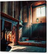 Cairo, Egypt -  Interior Of A Room In The Famous Bayt Al Suhaymi Located At Al Muizz Street In Cairo Canvas Print