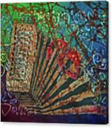 Cajun Accordian Canvas Print