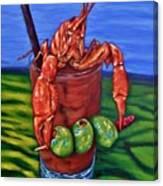 Cajun Cocktail Canvas Print