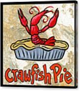 Cajun Food Trio Canvas Print